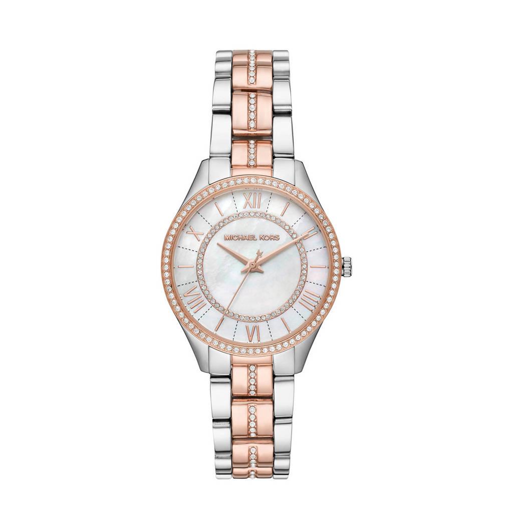 Michael Kors horloge MK3979 Lauryn zilverkleurig, zilver/rosé