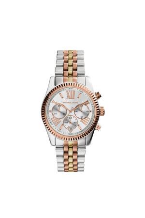 horloge MK5735 Lexington zilverkleurig