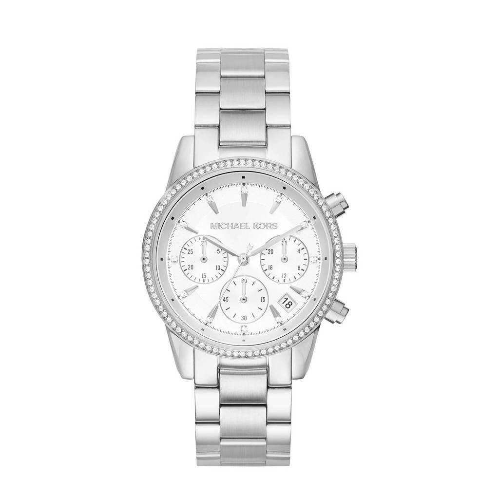 Michael Kors horloge MK6428 Ritz zilver, Zilverkleurig