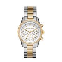 Michael Kors horloge MK6474 Ritz zilverkleurig, Zilver/goudkleurig