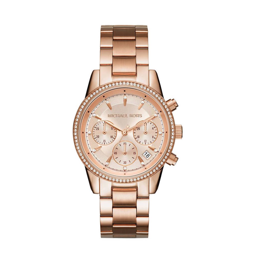 Michael Kors horloge MK6357 Ritz rosé, Rosé