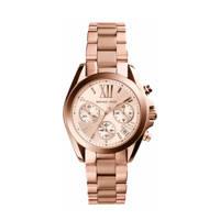 Michael Kors horloge MK5799 Mini Bradshaw rosé, Rosé