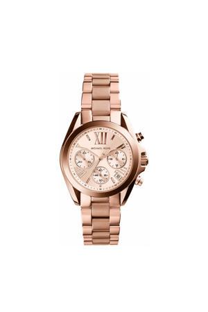 horloge MK5799 Mini Bradshaw rosé