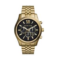 Michael Kors horloge MK8286 Lexington goud, Goudkleurig