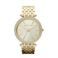 Michael Kors horloge MK3191 Darci goud, Goudkleurig