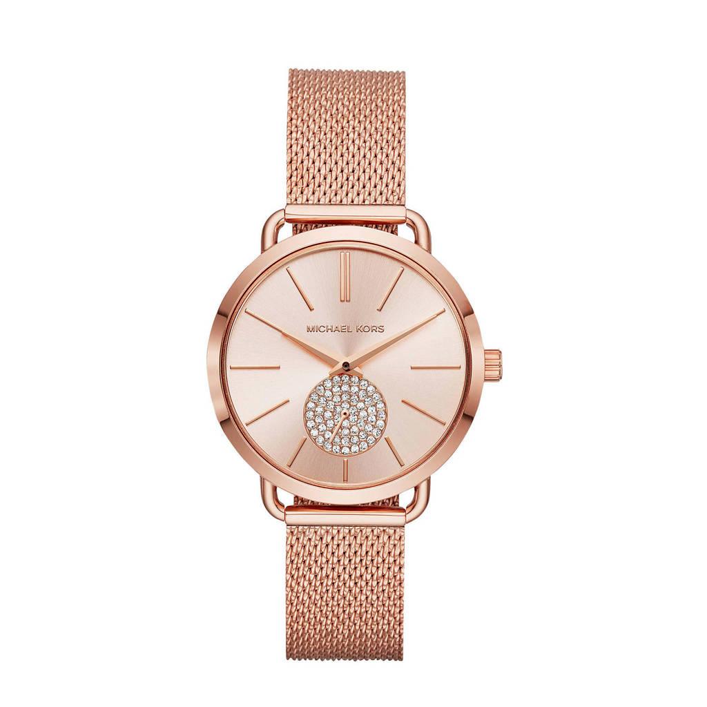 Michael Kors horloge MK3845 Portia rosé, Rosé