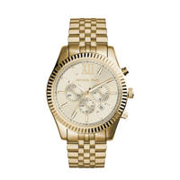 Michael Kors horloge MK8281 Lexington goud, Goudkleurig