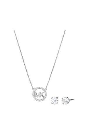 ketting en oorbellen MKC1260AN791 zilver