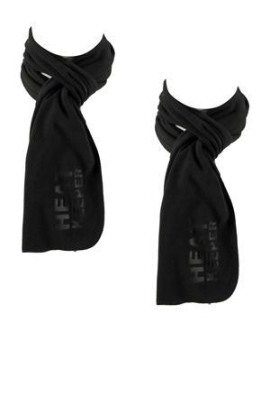 thermo sjaal - set van 2 zwart