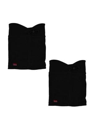 thermo colsjaal - set van 2 zwart