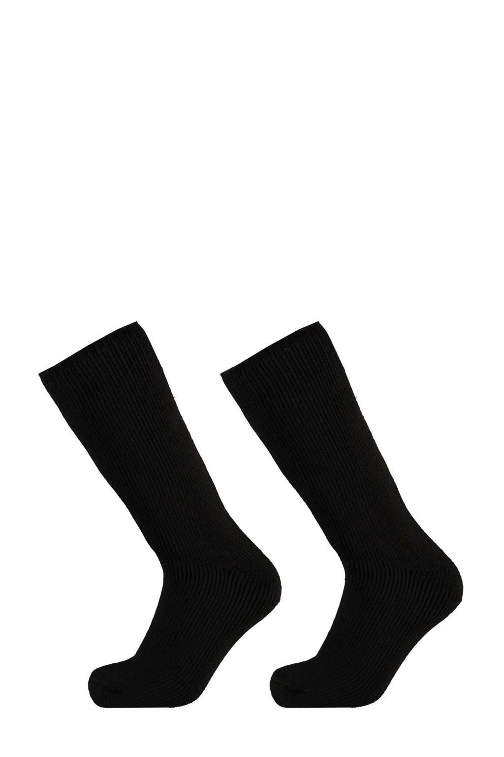 Heatkeeper thermo sokken - set van 2 zwart, Zwart