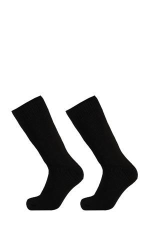 thermo sokken - set van 2 zwart