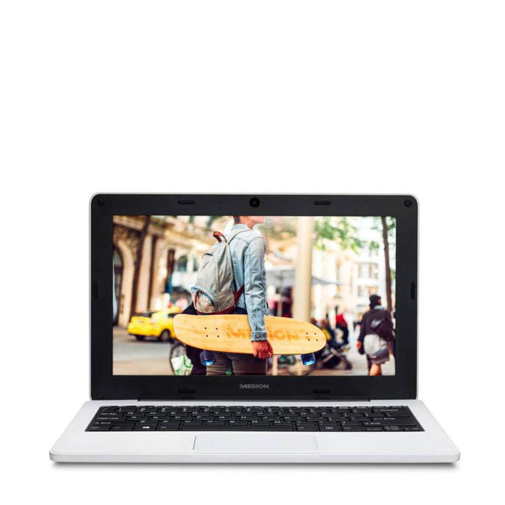 Medion E11201 11.6 inch HD ready laptop, Wit