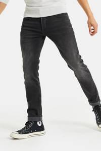 WE Fashion Blue Ridge slim fit jeans black denim, Black denim