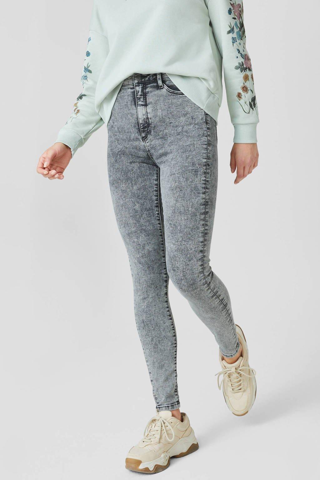 C&A Clockhouse high waist super skinny jeans antraciet, Antraciet