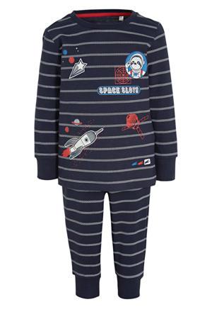 pyjama gestreept donkerblauw