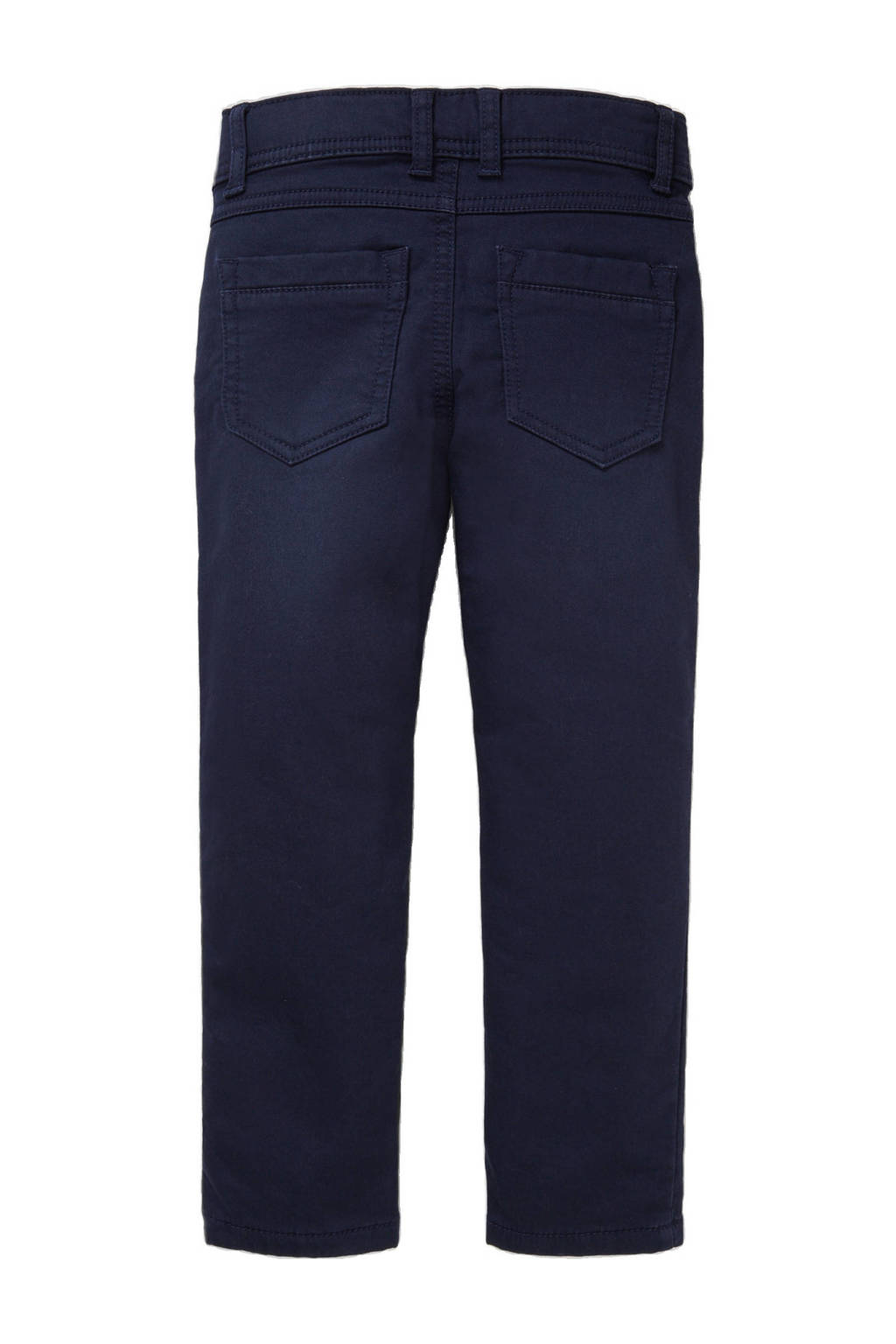 C&A Palomino slim fit broek donkerblauw, Donkerblauw