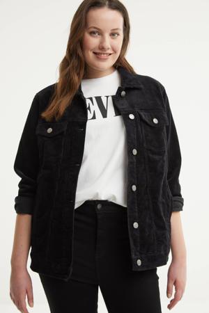 corduroy jasje zwart
