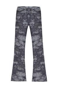 Cars tie-dyehigh waist broek Zuma grijs, Grijs