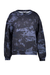 Cars sweater Sheryl met all over print marine, Marine