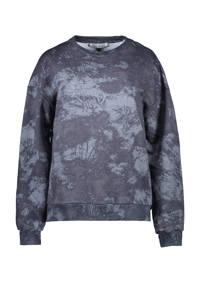 Cars sweater Sheryl met all over print zwart/grijs, Zwart