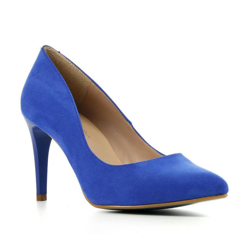 Giulia Giulia 8  pumps kobaltblauw, Kobaltblauw