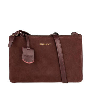 nubuck crossbody tas Soul Skye bordeauxrood