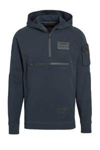 PME Legend hoodie met logo donkerblauw, Donkerblauw