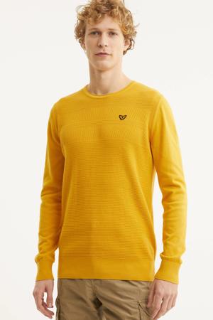 trui met textuur geel