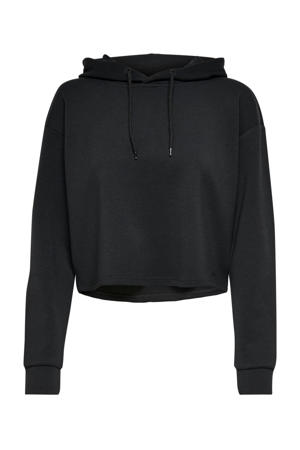 cropped sportsweater ONPLOUNGE zwart