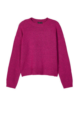 trui Nonette van gerecycled polyester roze