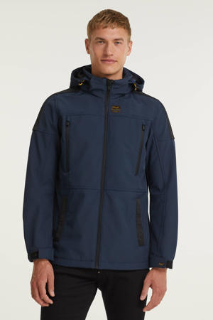 softshell jas Forwarder 2.0 donkerblauw