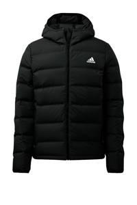 adidas Performance gewatteerde jas zwart, Zwart