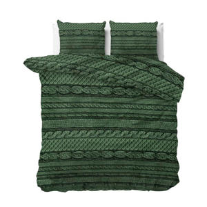 Polyester-katoen dekbedovertrek lits-jumeaux