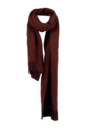 Sjaal Andrew donkerrood