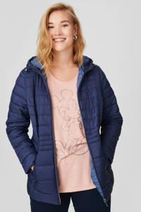 C&A XL Yessica gewatteerde jas donkerblauw, Donkerblauw