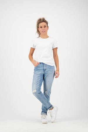 high waist skinny jeans Oceans light denim