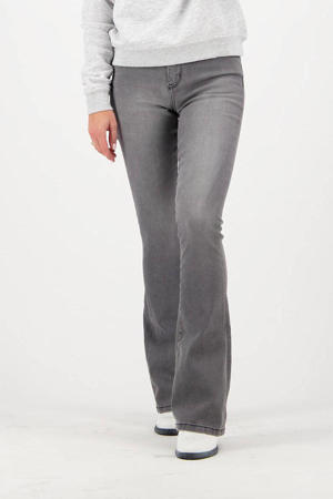 high waist flared jeans Sunrise grijs