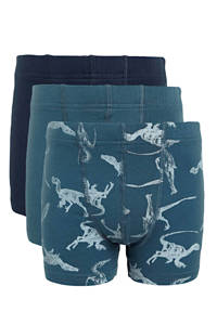NAME IT MINI   boxershort - set van 3 blauw, Blauw