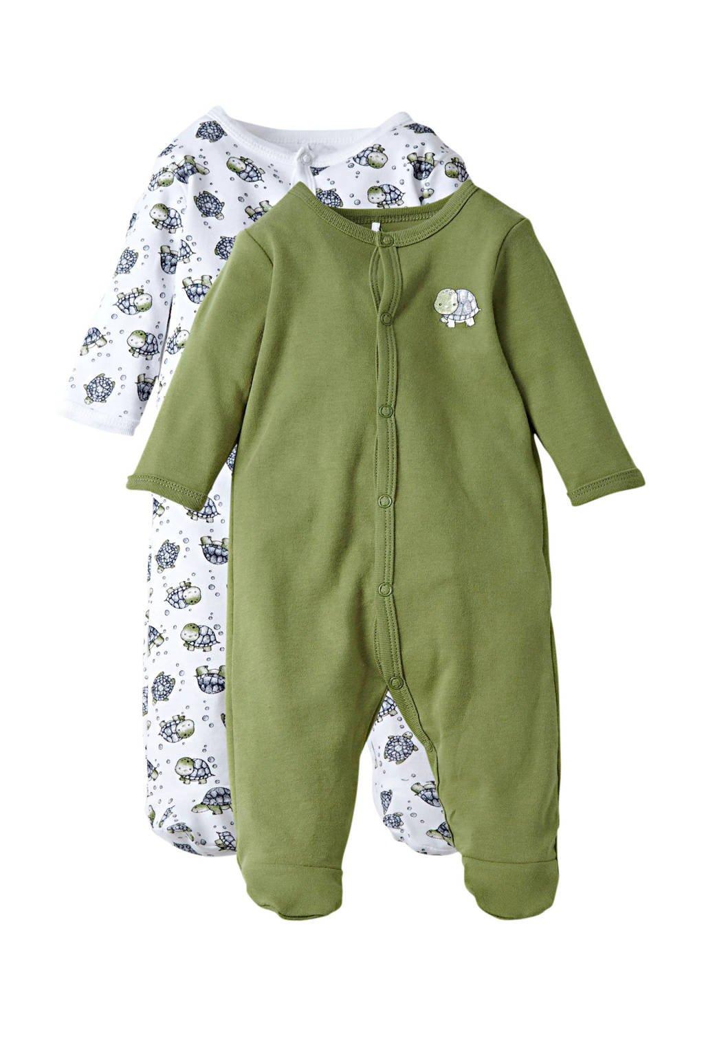 NAME IT BABY baby boxpak - (set van 2), Groen