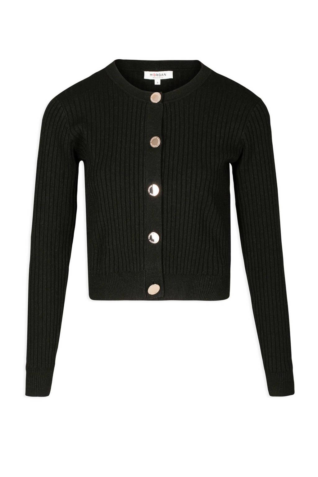 Morgan vest zwart, Zwart