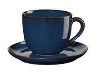 ASA Selection koffiekop en Schotel (23 cl), Donkerblauw, 230