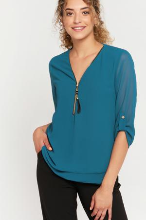blouse petrol  green