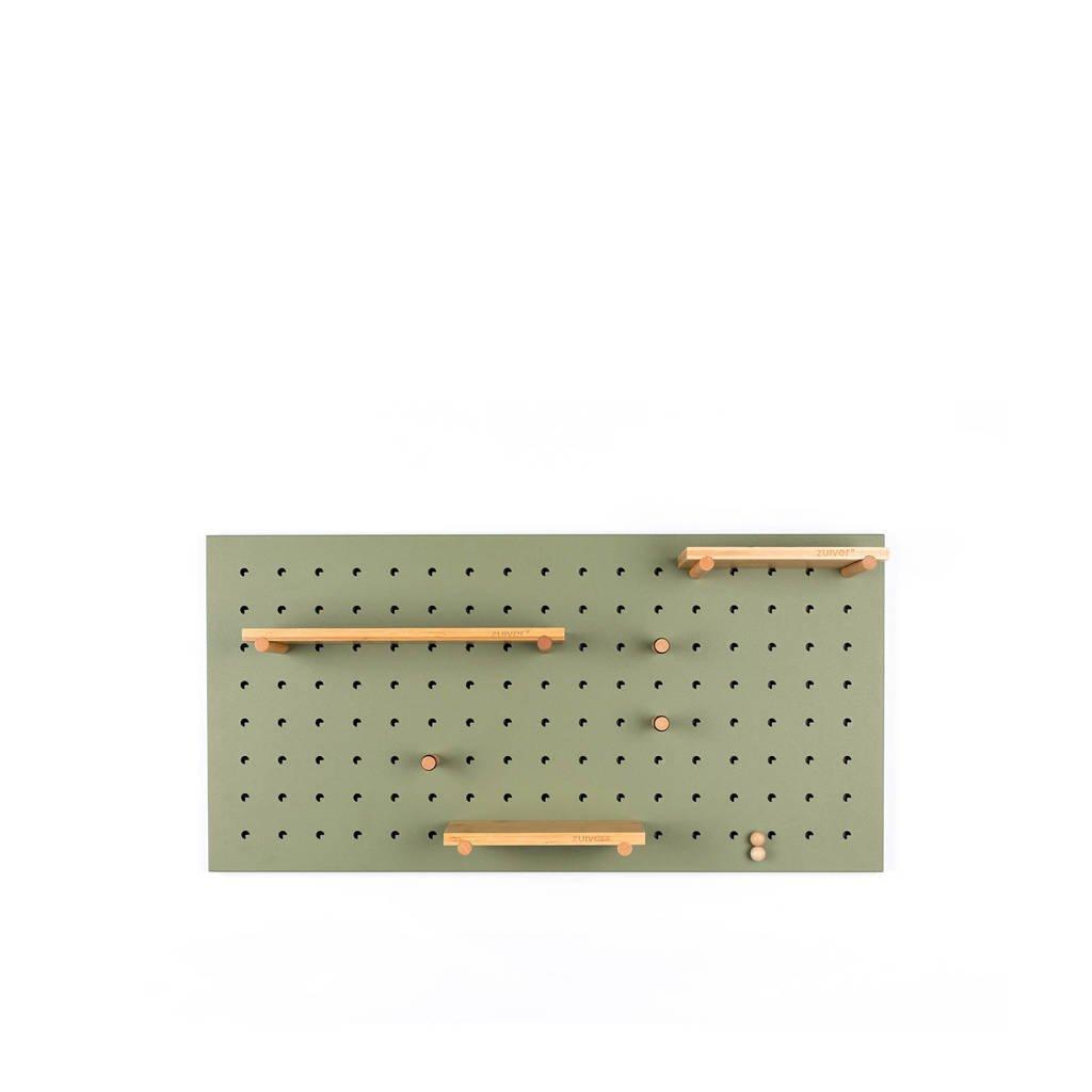 Zuiver prikbord Bundy Pegboard groen  ( cm), Groen