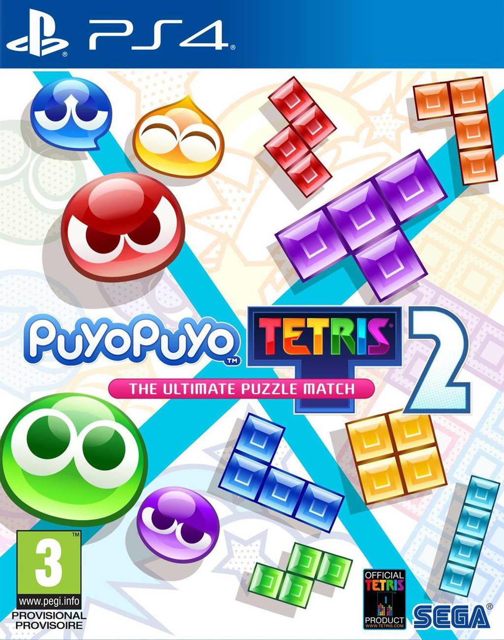Puyo Puyo Tetris 2 (Launch edition) (PlayStation 4)