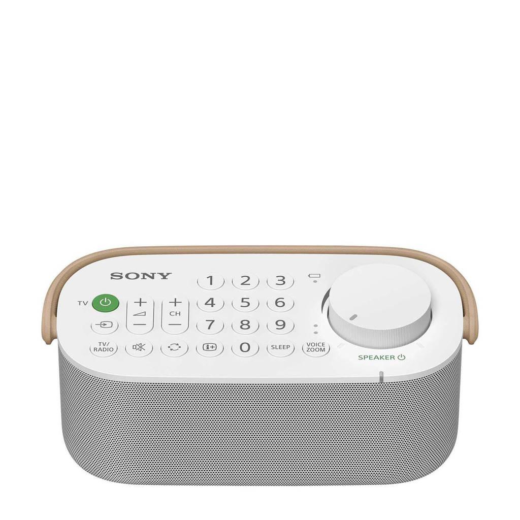 Sony SRSLSR200 draadloze TV speaker, Wit