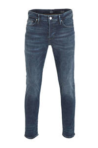 C&A The Denim tapered fit jeans blauw, Blauw