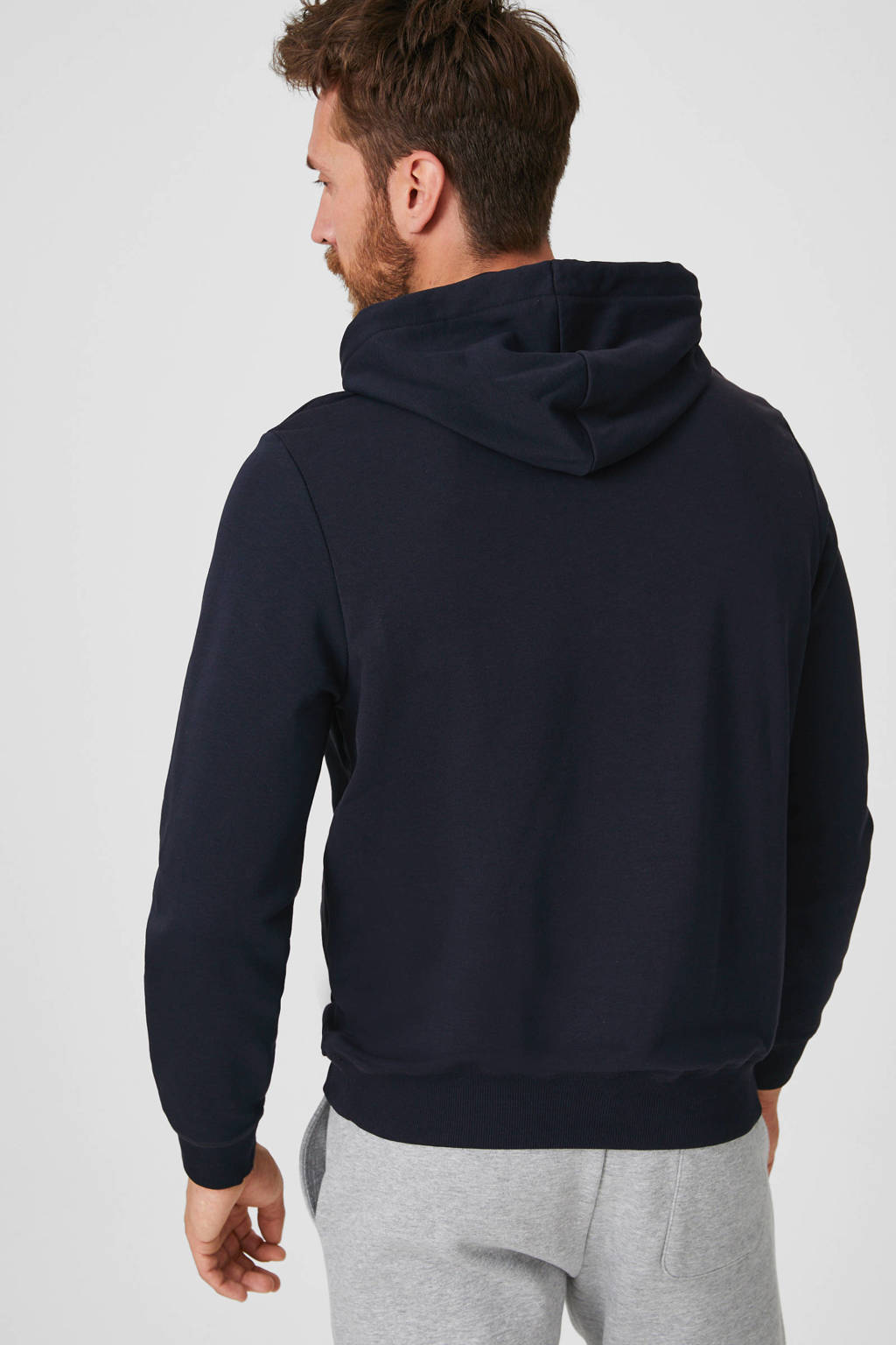 C&A Angelo Litrico hoodie donkerblauw, Donkerblauw