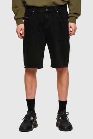 regular fit jeans short D-strukt 02 washed black