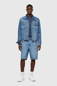 Diesel slim fit jeans short D-strukt 01 mid blue, 01 Mid Blue
